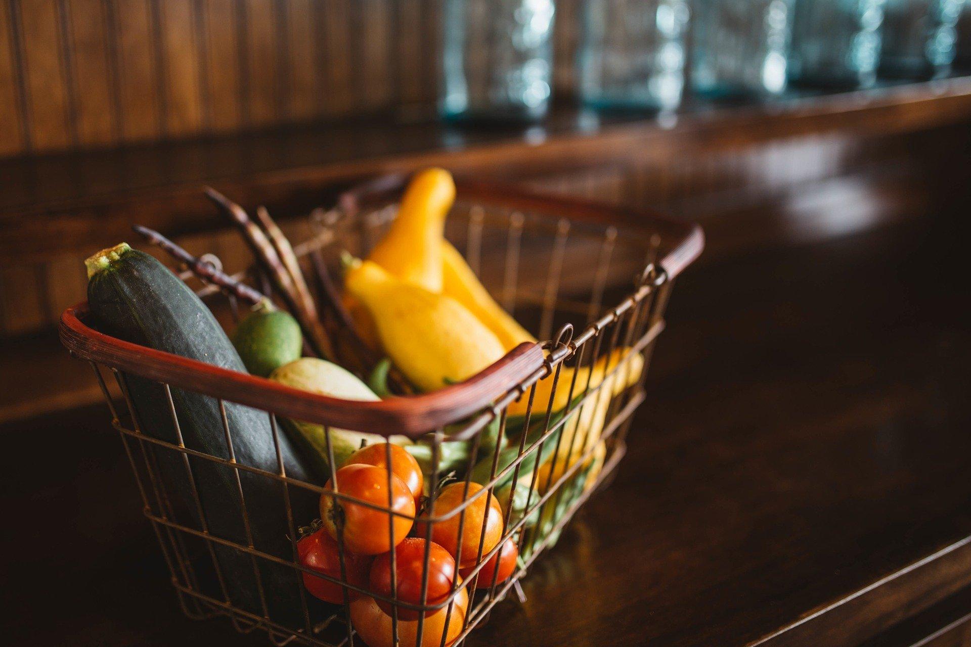 basket of fruite